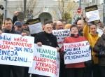 Na akcję protestacyjną przybyło około 200 osób Fot. Marian Paluszkiewicz