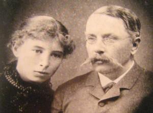 Anastasija Diementjewna i Nikołaj Osipowicz Koreccy Fot. Marian Paluszkiewicz