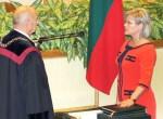 Do Sejmu zostało wybranych 104 mężczyzn i tylko 34 kobiety, z których aż trzy z ramienia AWPL — na zdjęciu jedna z nich, posłanka Wanda Krawczonok Fot. Marian Paluszkiewicz