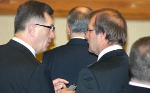 Partnerzy koalicyjni zwołali naradę<br/>Fot. Marian Paluszkiewicz