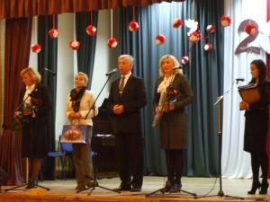 Mer rejonu Vincas Kapočius  dziękuje nauczycielom za trud i serce w pracy pedagogicznej