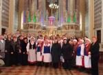 Uczestnicy nietradycyjnego koncertu Fot. Centrum Kultury Samorządu Rejonu Solecznickiego