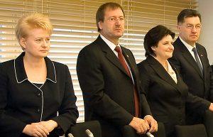 Niechęć Grybauskaitė do Uspaskicha i jego kandydatów na ministrów dla wielu jest przejawem zwykłej walki prezydent o zachowanie swoich politycznych wpływów w rządzie i Sejmie Fot. Marian Paluszkiewicz