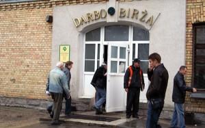 Wśród 196,4 tys. bezrobotnych zarejestrowanych na Litewskiej Giełdzie Pracy prawie 60 tys. to osoby po 50. roku życia Fot. Marian Paluszkiewicz