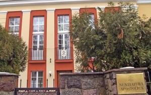 Gmach Nuncjatury Apostolskiej w Wilnie  Fot. Marian Paluszkiewicz