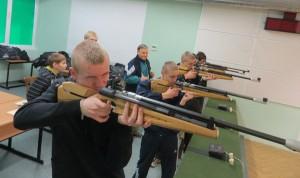 Zajęcia w Drzonkowie w strzelectwie      Fot. archiwum