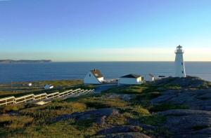 Przylądek Cape Spear w Nowej Fundlandii