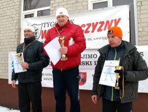 W grupie samorządowców na dystansie 17 km pierwsze miejsce zajął Mieczysław Borusewicz, drugie – Mirosław Romanowski, trzecie – Marek Kuskowski