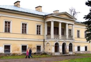 Prace renowacyjne w pałacu klasycystycznym w Jaszunach rozpoczną się już niebawem Fot. Marian Paluszkiewicz