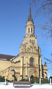 Ogólny widok kościoła pw. św. Kazimierza w Nowej Wilejce  Fot. Marian Paluszkiewicz