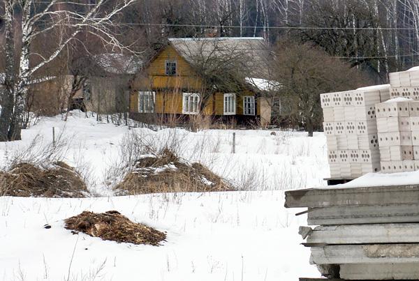 Przed 20 laty Gudele stały się symbolem walki miejscowych Polaków z bezprawnym nowym osadnictwem na Wileńszczyźnie Fot. Marian Paluszkiewicz