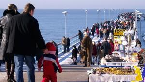 Pomorscy restauratorzy i hotelarze przekonują lokalne władze, że nie przetrwają bez otwarcia granic dla turystów z Kaliningradu  Fot. Marian Paluszkiewicz
