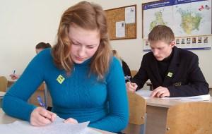 W tym roku egzamin z języka litewskiego będzie jednakowy dla wszystkich uczniów Fot. Marian Paluszkiewicz