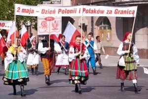 Na wileńskie ulice po 3-letniej przerwie, powraca pochód z okazji Dnia Polonii i Polaków za Granicą Fot. Marian Paluszkiewicz