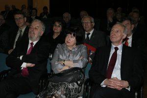 Stanisław Cygnarowski, Ewa Mańkiewicz-Cudny i Henryk Szymański Fot. Jerzy Karpowicz