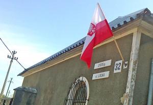 Symbolem, który łączy Polaków we wszystkich miejscach na świecie, jest polska flaga Fot. Anna Pieszko