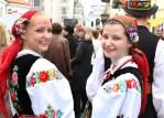 Ludzie byli bardzo życzliwi wobec siebie wczuwając się w świąteczną atmosferę Fot. Marian Paluszkiewicz