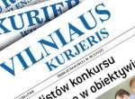 """Spółka wydawnicza """"Kurier Wilenski"""" może pozostać przy tej samej nazwie nie zmieniając jej na litewskojęzyczną """"Vilniaus Kurjeris""""Fotomontaż Marian Paluszkiewicz"""