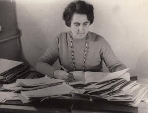 Pani Gienia zawsze była pilna i oddana pracy – każdy list był zarejestrowany Fot. archiwum rodzinne