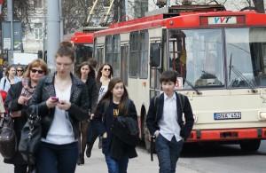 Jak twierdzą w samorządzie wileńskim, zlikwidowane zostaną tylko te linie transportu publicznego, które obecnie są bardzo słabo wykorzystywaneFot. Marian Paluszkiewicz