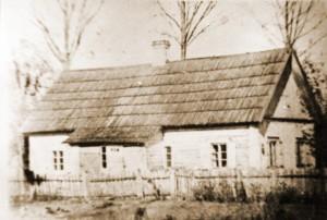 Rodzinny domek Dilysów w Nowych Święcianach Fot.archiwum