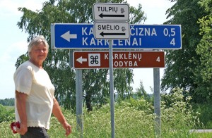 Wspólnoty lokalne gminy szaternickiej zrealizowały swój pomysł na nazwy ulic — praktyczny a zarazem kompromisowy w kontekście sporu o polskie nazwy ulic Fot. Marian Paluszkiewicz