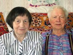 Alicja i Bolesław Jankowscy są ze sobą 58 lat Fot. z albumu rodzinnego