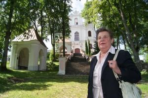 Życie Julitty (autorki książki), dziadów i pradziadów upłynęło przy Kalwarii Wileńskiej Fot. Marian Paluszkiewicz