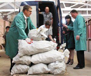 Rekordową ilość kontrabandy haszyszu zatrzymano 12 maja tego roku na przejściu granicznym w Ławaryszkach Fot. Marian Paluszkiewicz