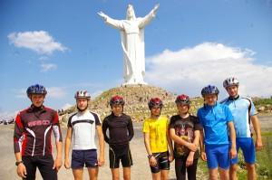 W Świebodzinie przy największej figurze Jezusa na świecie