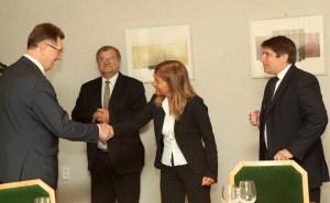 """Szefowa """"Business Europe"""" przekonywała premiera, że gaz łupkowy stwarza nowe możliwości rozwojowe     Fot. ELTA"""