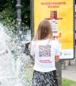 Za pomocą specjalnej strony internetowej www.happybarometer.com, wilnianie mogą oddać głos    Fot. archiwum