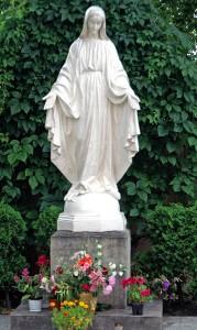 Figura Matki Bożej Fot Marian Paluszkiewicz