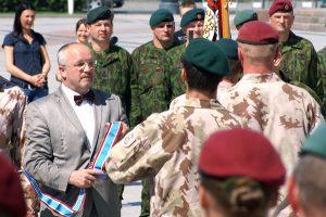 Minister Juozas Olekas liczy, że porozumienie ws. powołania LITPOLUKRBRIG-u uda się sfinalizować jeszcze w tym roku Fot. Marian Paluszkiewicz