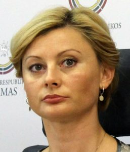 Starosta frakcji AWPL, posłanka Rita Tamašunienė Fot. Marian Paluszkiewicz