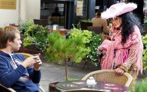 Żebractwo to zawód Różyczki i... jest w nim doskonała! Fot. Marian Paluszkiewicz