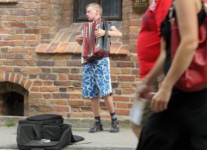 Uliczni muzykanci dopełniają koloryt miasta Fot. Marian Paluszkiewicz