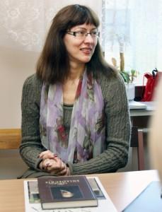 Birutė Railienė, autorka książki o Jędrzeju Śniadeckim Fot. Marian Paluszkiewicz