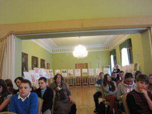 Grupa młodzieży z okolic Kiejdan pod opieką Iriny Dima i Ireny Duchowskiej gościła w Ciechanowcu