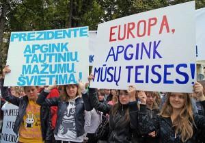 Polacy stanowczo żądają odwołania Ustawy o Oświacie<br/>Fot. Marian Paluszkiewicz