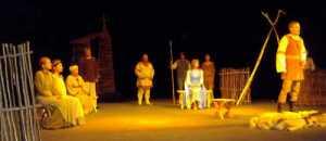 """Scena ze spektaklu """"Lilije""""<br/>Fot. Renata Zielenkiewicz"""