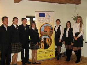 Konsolidacja młodzieży szkolnej w Borejkowszczyźnie Fot. Teresa Markiewicz