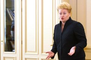 Zdaniem niektórych ekspertów, wypełnianie białych plam w biografii Grybauskaitė za pomocą rosyjskich służb może być splanowanym działaniem początkującym kampanię wyborczą obecnej prezydent Fot. Marian Paluszkiewicz