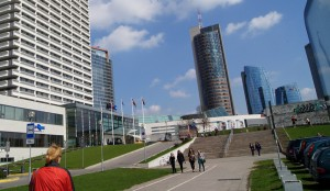 Mimo poważnych kłopotów finansowych Wilno wciąż pozostaje silnikiem napędowym litewskiej gospodarki Fot. Marian Paluszkiewicz
