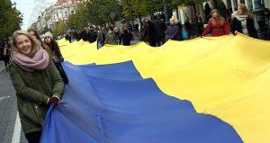 Ukraina i jej naród stoją dziś przed historyczną szansą, ale żeby z niej skorzystać, muszą najpierw dokonać historycznego wyboru Fot. Marian Paluszkiewicz