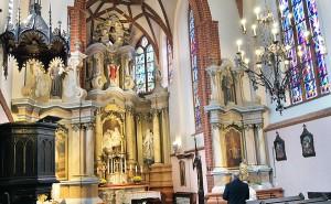 Wnętrze kościoła Fot. Marian Paluszkiewicz