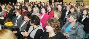 Uroczystość zgromadziła nauczycieli i dyrektorów szkół z całej Wileńszczyzny Fot. Marian Paluszkiewicz