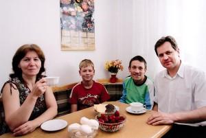 Rodzina dla Tomaszewskiego to największa wartość Fot. z albumu rodzinnego