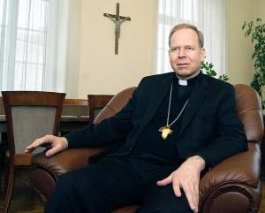 """""""Najważniejsze jest usłyszeć prawdziwe powołanie"""" – zaznacza arcybiskup Gintaras Grušas Fot. Marian Paluszkiewicz"""
