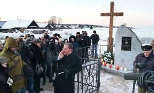 Pomnik w Kowalkach ku czci por./pkt. Jana Borysewicza został odsłonięty i poświęcony po uroczystej mszy świętej Fot. Marian Paluszkiewicz